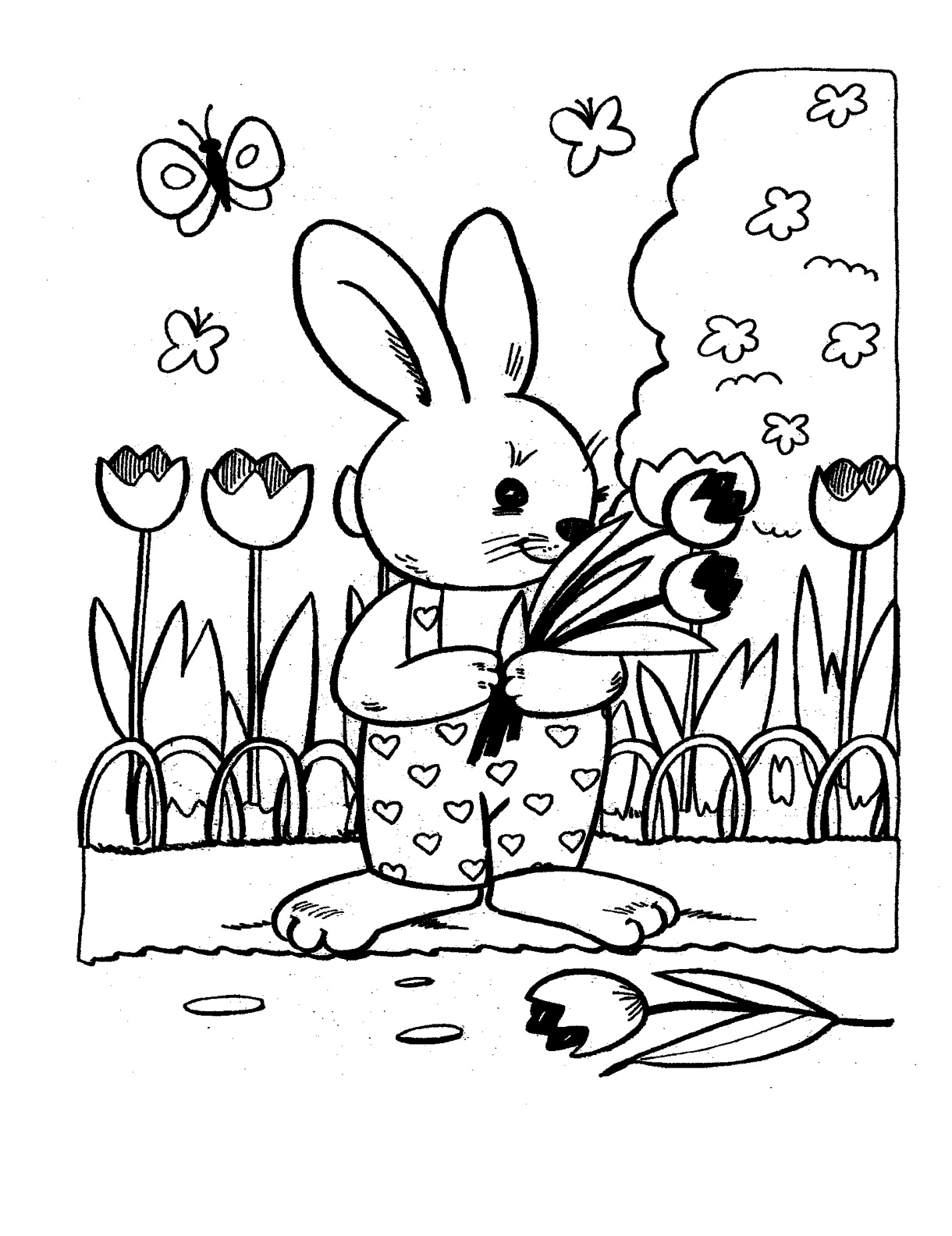 Easter Coloring Contest for Kids, Ages 3-10!