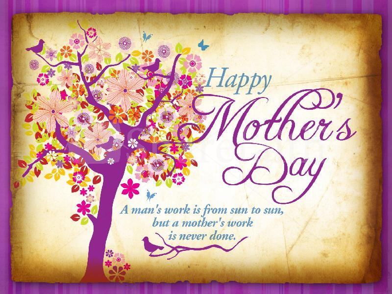 happy mothers day to all our wonderful staff who hold down two very difficult jobs