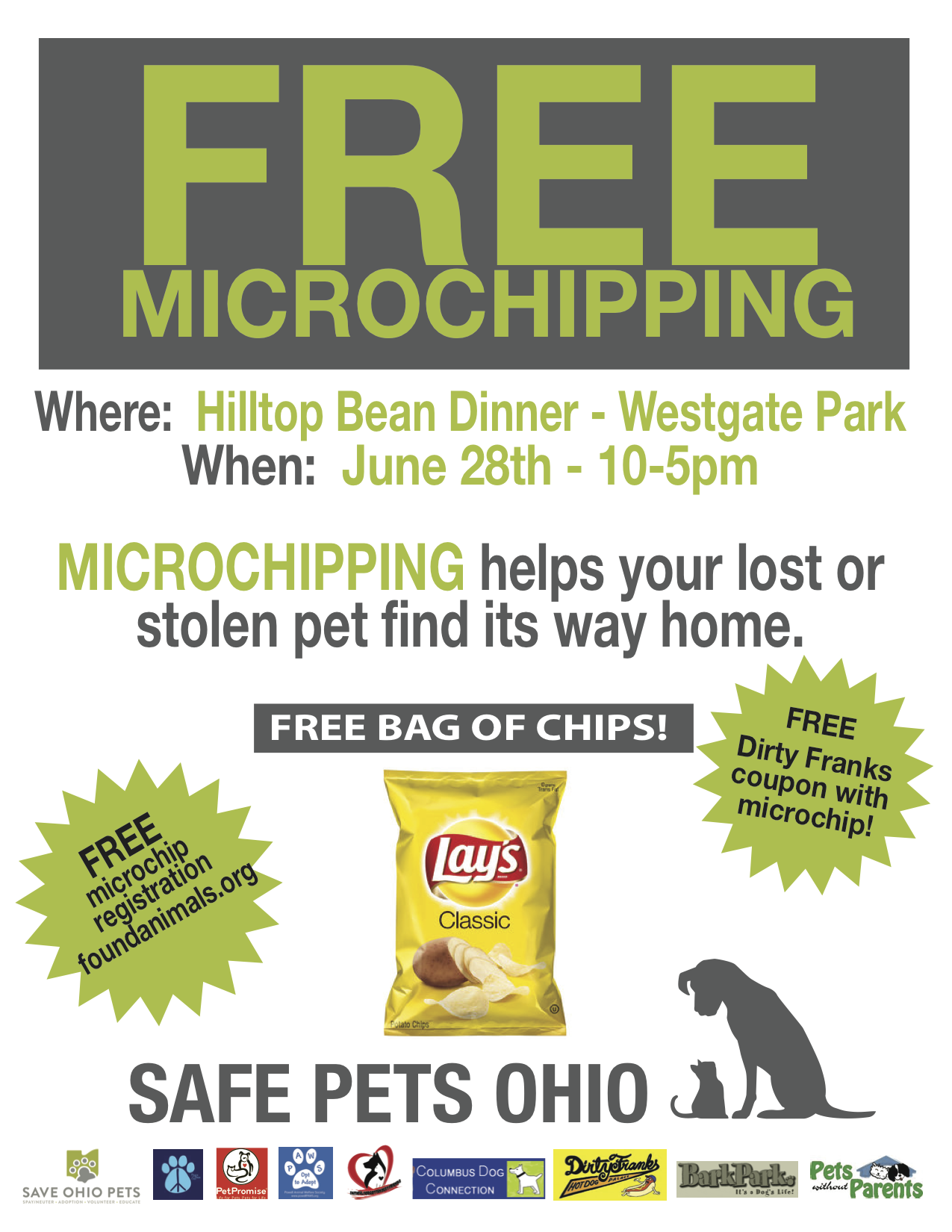 Free microchipping!