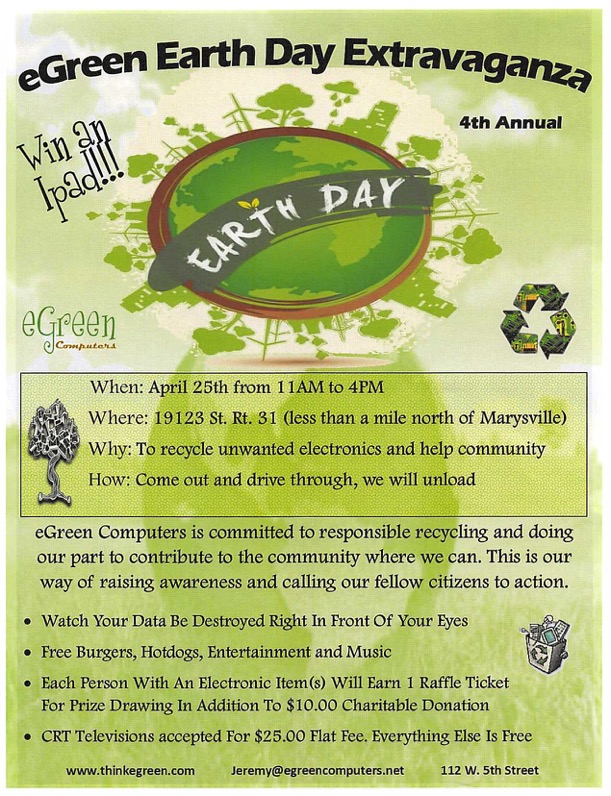 eGreen Earth Day Extravaganza