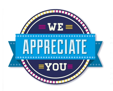 Image result for we appreciate you