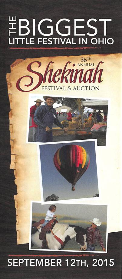 Shekinah pamphlet 2