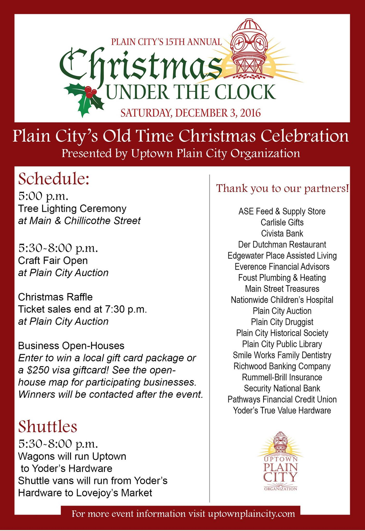 Young Artists: Get Ready for the Christmas Under the Clock Coloring ...
