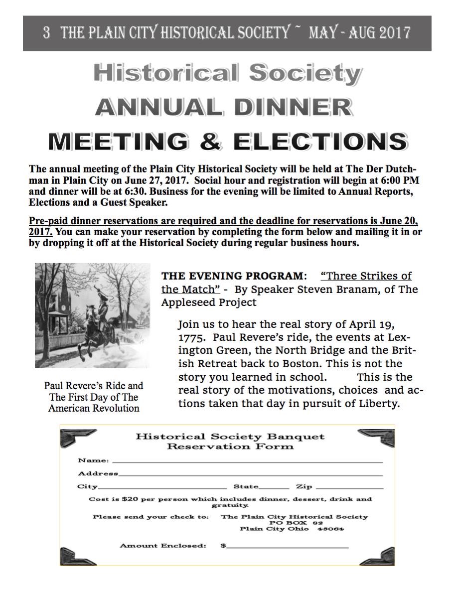 UntitledPC Historical Society dinner