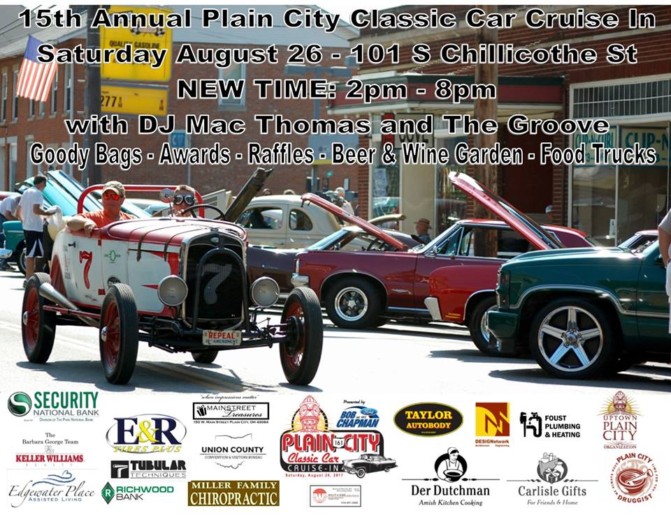 Plain City Classic Car Cruise In